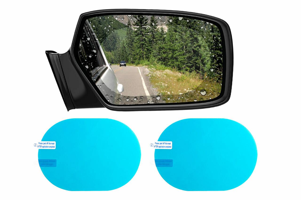 Rear mirror anti-fogwater repellent film 135x95mm 2 pcs