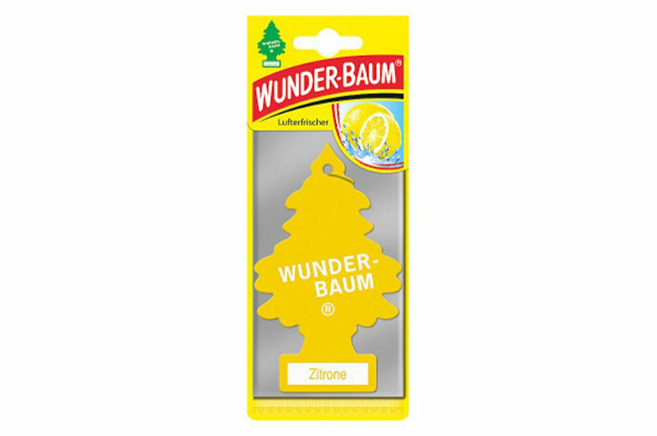 Air Car Freshener Wunder Baum - Lemon