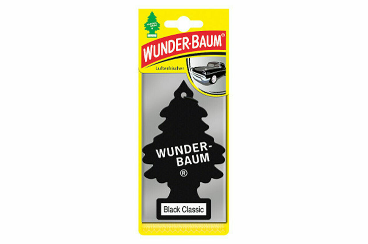 Air Car Freshener Wunder Baum - Black Classic