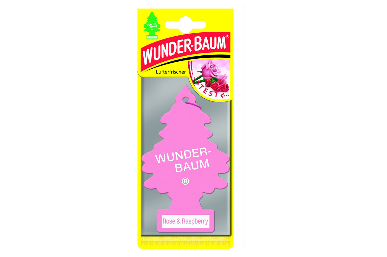 Air Car Freshener Wunder Baum - Rose&Raspberry