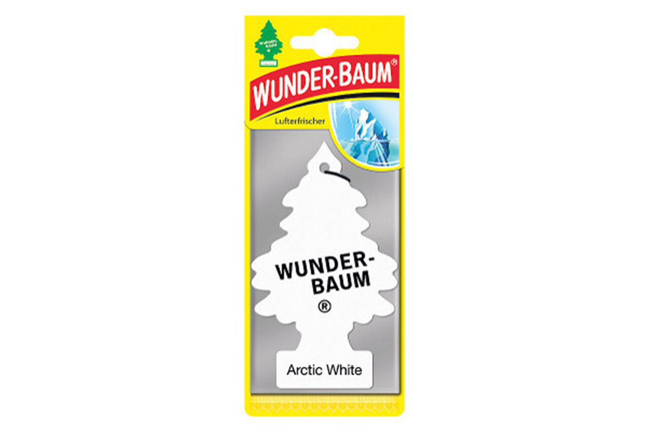Air Car Freshener Wunder Baum - Arctic White