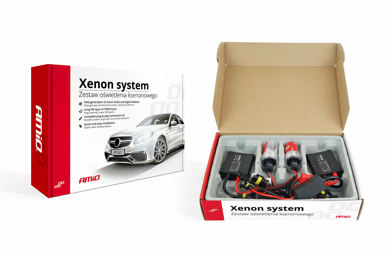 Xenon kit type slim H7 6000K
