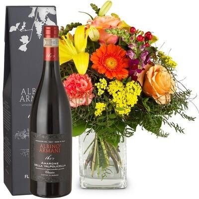Star des Sommer mit Rotwein Amarone