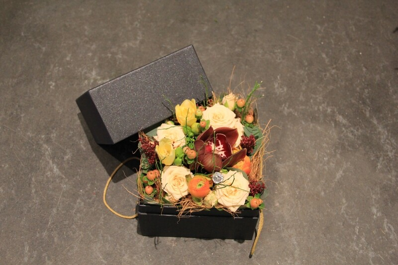 stylische Blumenbox