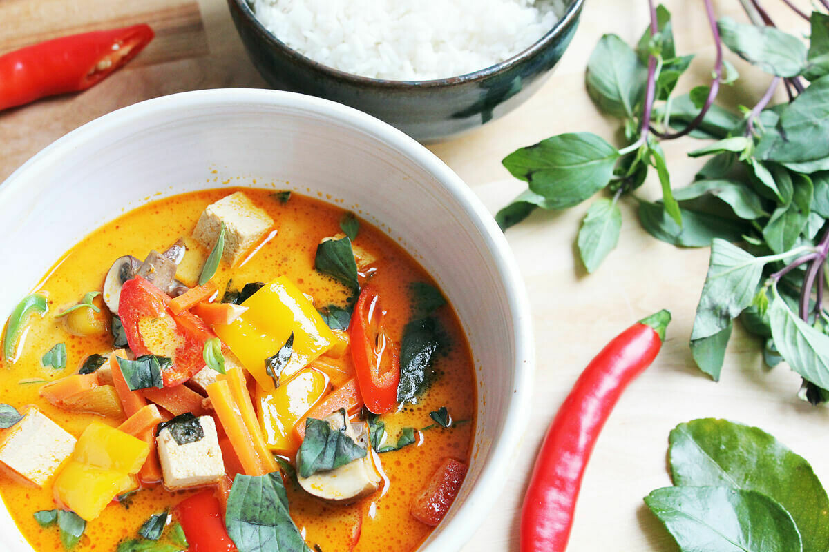 Red Curry im 500gr. Glas (vegan)