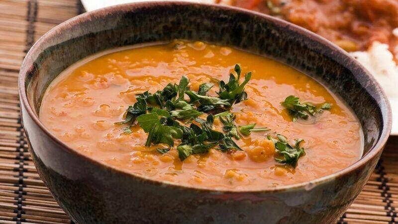 Indische Linsen Suppe 5dl (V,Gf)
