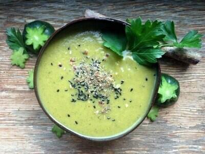 Zucchetti-Kokos Suppe 5dl (V,Gf)