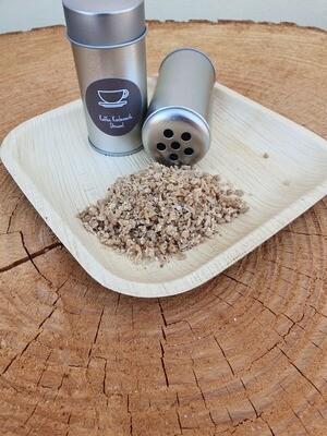 Seifen Streusel Streuer, Kaffee Küchen Seife, nachfüllbar, nimmt Küchengerüche an den Händen  weg