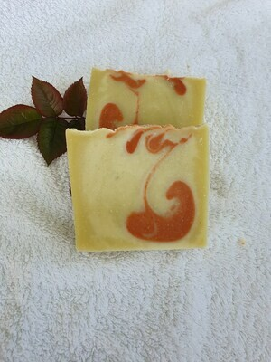 Marrakesch Seife vegan, handgemachte Seife, mit Kakaobutter und Olivenöl, geeignet für trockene und normale Haut