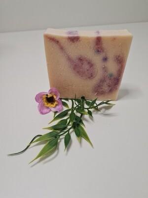 Ziegenmilch-Lavendel Seife, für trockene und empfindliche Haut