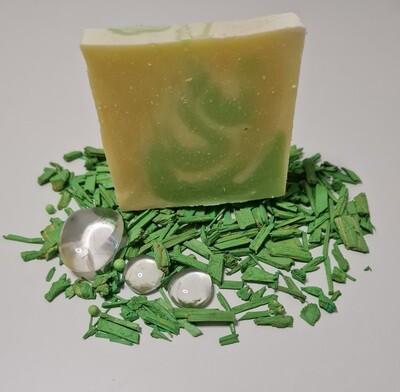 Melisse Seife, für empfindliche Haut,vegan, mit Kakaobutter und ätherischer Melisse