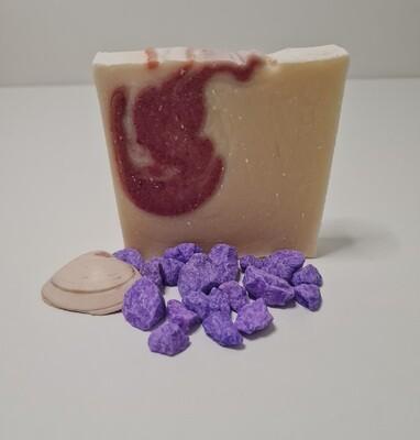Patchouli, mit Kakaobutter, vegan, für empfindliche trockene Haut, mit ätherischem Patchouli Öl