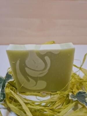 Zitronen Verbene  Seife, vegan, für normale bis trockene Haut, mit Kakaobutter und Olivenöl