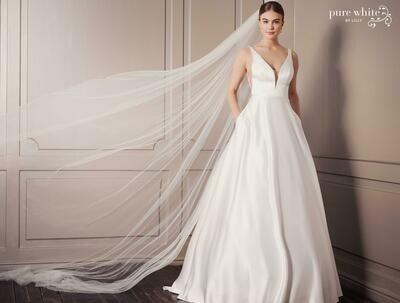 Brautkleid Lilly - Gr. 42 vorrätig