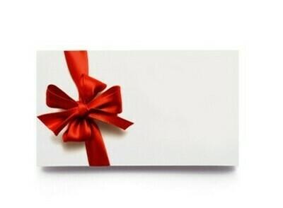 Geschenkkarte für Online Shop