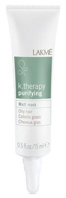 Lakme K.Therapy Purifying Matt Mask Talkregulierung 6 x 15 ml