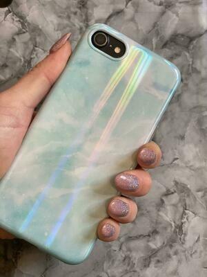 Blue Iridescent Case