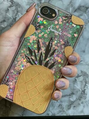 Pineapple Case With Glitter