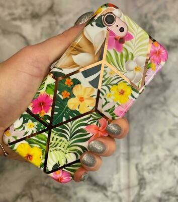 Geo Floral Phone Case