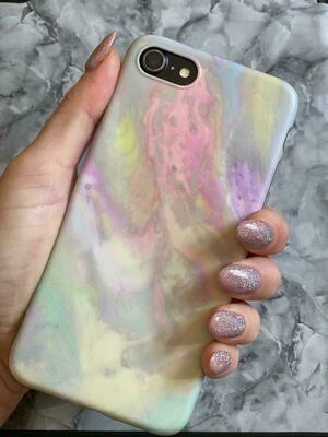 Muti Colour Marble Phone Case