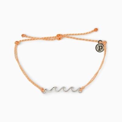 Silver Delicate Wave Bracelet-PECH