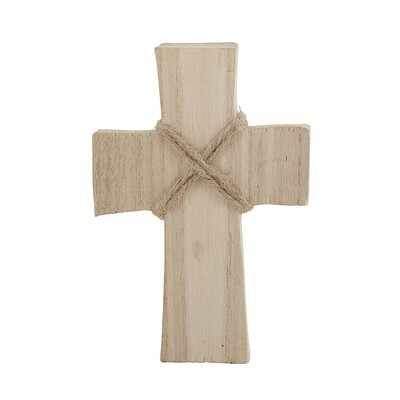 Small Standing Cross- Natural