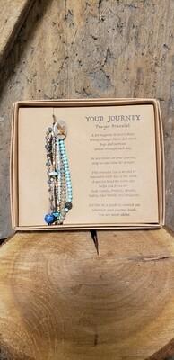 Prayer Bracelet-Turquoise
