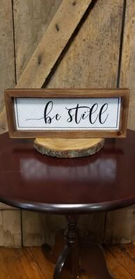 Be Still Tin