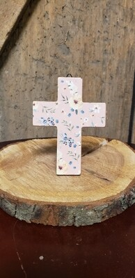 Mini Floral Cross