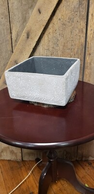 Large Square Cement Planter 8436