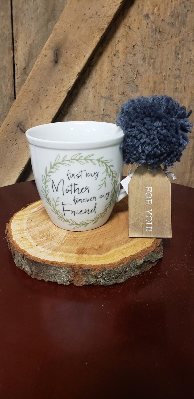 First My Mother Pom Mug