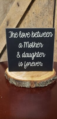 Love Between A Mother And Daughter
