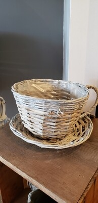 Willow Cup And Saucer