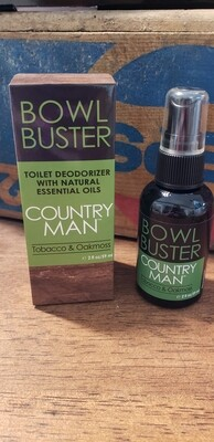 Country Man Bowl Buster