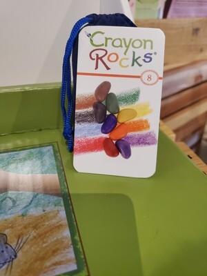 8 Colors Rock Crayons