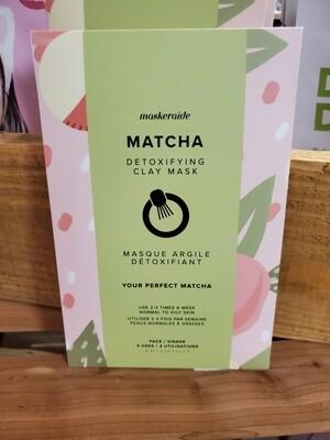 Matcha Detoxifying Clay Mask