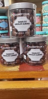 Sugarless Chocolate Almonds