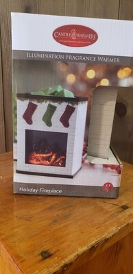 Holiday Fireplace Warmer