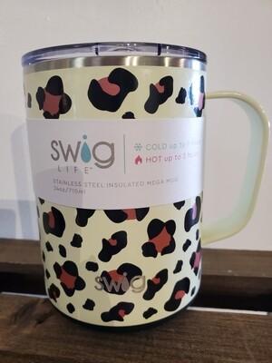 Swig 24oz Mega Mug Luxury Leopard