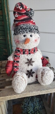 Blizzard Snowman