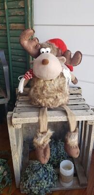 Chestnut Moose Dangle Leg