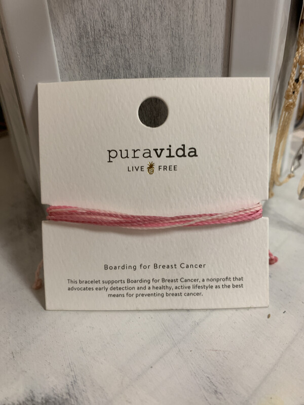 Puravida- Pink Breast Cancer