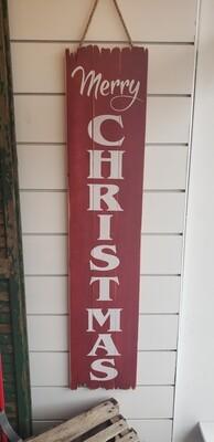 Christmas Plank Vertical Hanger
