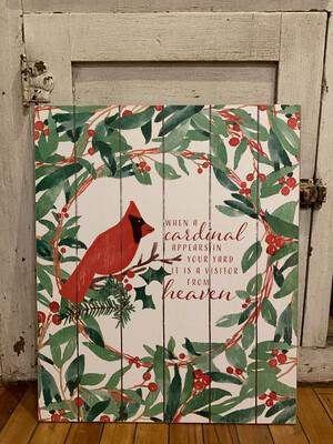 When A Cardinal