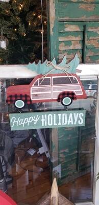 Happy Holidays Hanger