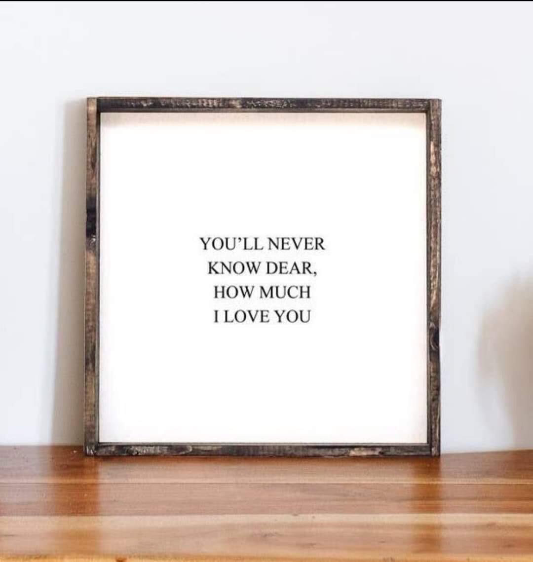 Never Know Dear