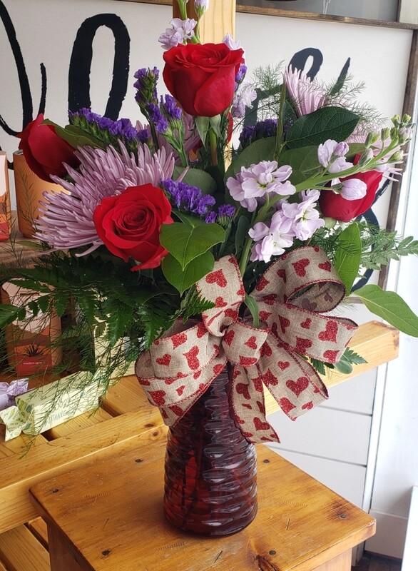 Valentine's Day Fresh Arrangement