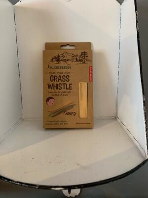 Grass Whistle Huckleberry