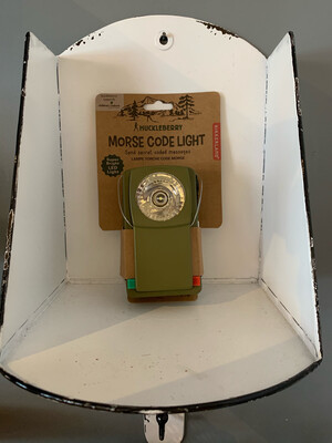 Morse Code Light Huckleberry