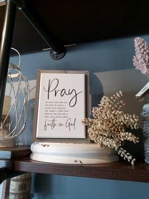 Pray 6x8